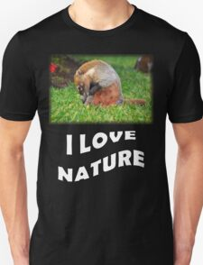 Badger - I love nature T-Shirt