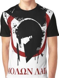 molon labe 2 Graphic T-Shirt