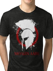 molon labe 2 Tri-blend T-Shirt