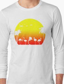 Star Wars Tropical SunsAT-ST Long Sleeve T-Shirt