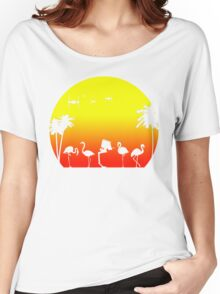 Star Wars Tropical SunsAT-ST Women's Relaxed Fit T-Shirt
