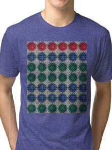 Digital Fruit (Mixed Tray) Tri-blend T-Shirt