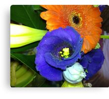 Fab Flowers Flaunting their Fantasticness Canvas Print