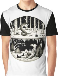 Hide Away  Graphic T-Shirt