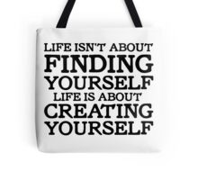 George Carlin Quote Motivational Inspirational Life Tote Bag