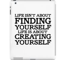 George Carlin Quote Motivational Inspirational Life iPad Case/Skin