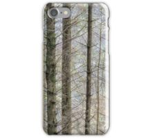 Wintry forest iPhone Case/Skin