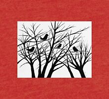 Birds In The Tree Tri-blend T-Shirt