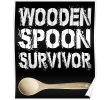 wooden spoon survivor Poster