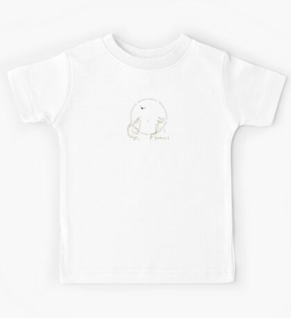 The Boy And His Wetnose fox, Crow Kids Tee