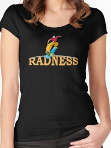 radness Women's Fitted Scoop T-Shirt