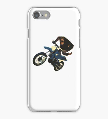 Monkey on a Dirt Bike iPhone Case/Skin