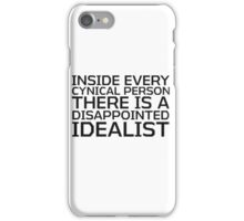 George Carlin Quote Smart Cynical iPhone Case/Skin