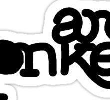 Basic Arctic Monkeys Designs Sticker