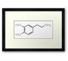 Dopamine Framed Print