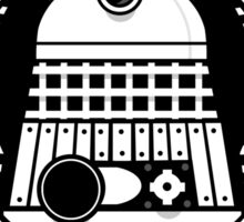 Skaro Coffee Green Sticker
