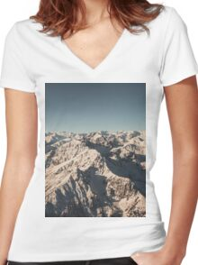 Lord Snow - Landscape Photography Women's Fitted V-Neck T-Shirt