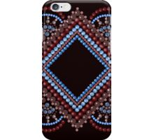 Seamless pattern modern texture abstract with circles iPhone Case/Skin