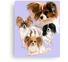 Papillon Canvas Print