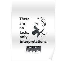 Friedrich Nietzsche quote Poster