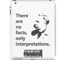Friedrich Nietzsche quote iPad Case/Skin