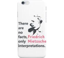 Friedrich Nietzsche quote b iPhone Case/Skin