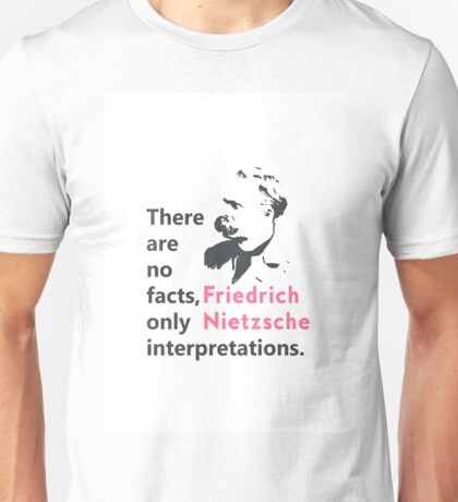 Friedrich Nietzsche quote b Unisex T-Shirt