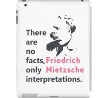 Friedrich Nietzsche quote b iPad Case/Skin