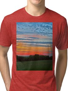 A Beautiful ending to a Beautiful Day Tri-blend T-Shirt