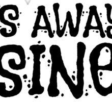 God Religion Tom Waits Quote Music Lyrics Atheism Sticker