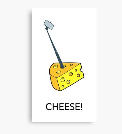 Cheese!! Canvas Print