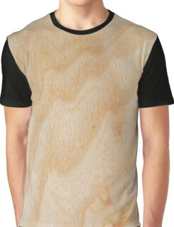 Unique rotary birch yellow wood design Graphic T-Shirt