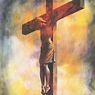 Our Savior On The Cross by Marie Sharp