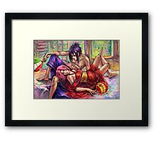 Football Controversy Framed Print