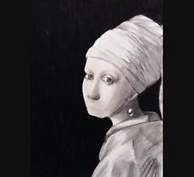 The girl with a pearl earring with no mouth Unisex T-Shirt