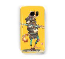 Fury Beats - Lily Slash Yellow Samsung Galaxy Case/Skin