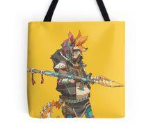 Fury Beats - Lily Slash Yellow Tote Bag