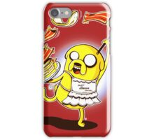 Jake Adventure Time Bacon iPhone Case/Skin