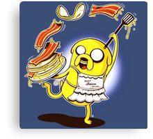 Jake Adventure Time Bacon Canvas Print