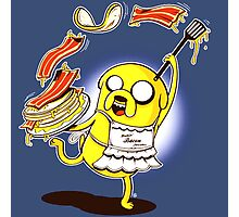 Jake Adventure Time Bacon Photographic Print