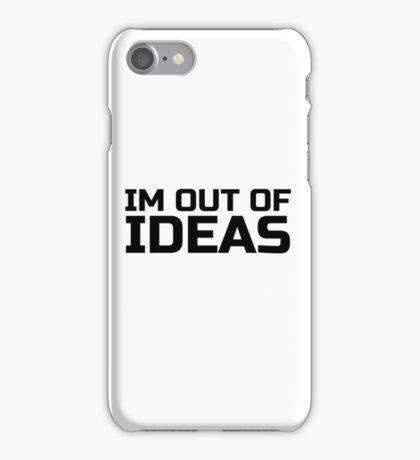 Funny Ironic Idea Ideas Random Humour Cool Text iPhone Case/Skin