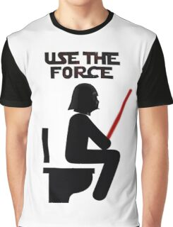 Use the Force - constipated Graphic T-Shirt