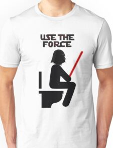 Use the Force - constipated Unisex T-Shirt