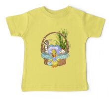 Easter Chicken  Baby Tee