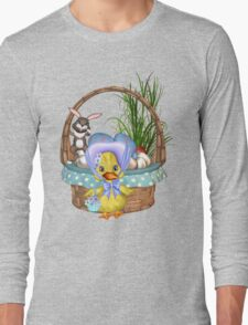 Easter Chicken  Long Sleeve T-Shirt