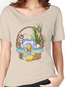 Easter Chicken  Women's Relaxed Fit T-Shirt