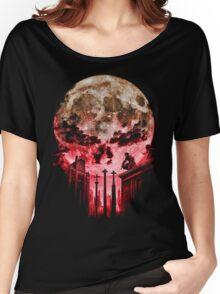 Punish Skull Women's Relaxed Fit T-Shirt