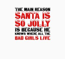 Santa Claus George Carlin Quote Funny Humour Comedy Christmas Unisex T-Shirt