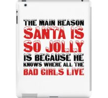 Santa Claus George Carlin Quote Funny Humour Comedy Christmas iPad Case/Skin