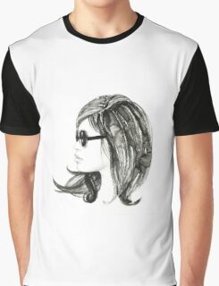 Girl with sunglasses Graphic T-Shirt